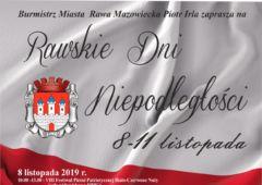 Plakat: Rawskie Dni Niepodległości
