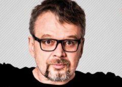 Plakat: Piotr Bałtroczyk. Mężczyzna z kijowym peselem
