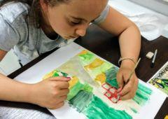 Zdjęcie: Wakacyjne lekcje sztuki