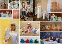 Plakat: Świąteczne anioły - wyniki