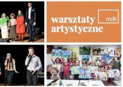 Plakat: Warsztaty artystyczno-edukacyjne 2019/2020