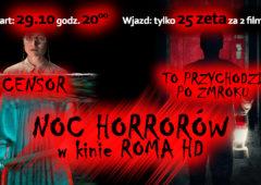 Plakat: Noc horrorów -2021