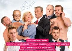 Plakat: Rubinowe gody - spektakl teatralny