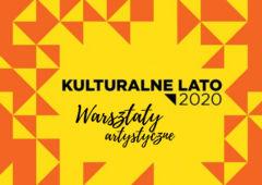 Plakat: Letnie warsztaty artystyczne