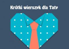 Plakat: Wiersz dla Taty - konkurs on-line