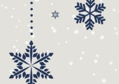Plakat: FERIE zimowe z MDK