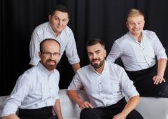Plakat: Czterech tenorów na Gali Noworocznej