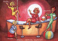 Plakat: Klimakterium 2 czyli menopauzy szał