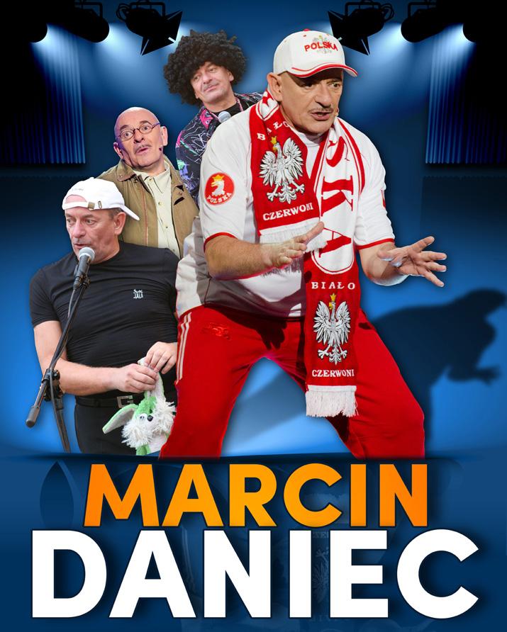 Plakat: Kabaret Marcina Dańca