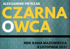 Plakat: Listopadowe Kino Konesera - Czarna owca