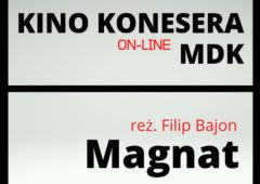 Plakat: Styczniowe Kino Konesera on-line