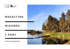 Plakat: MIGAWKA z RAWY konkurs fotograficzny