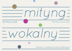 Plakat: XVI Rawski Mityng Wokalny