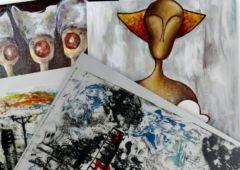 Plakat: Wystawa Katarzyny Klimek