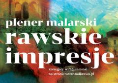 Plakat: Zapraszamy na plener malarski!