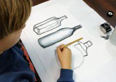 Zdjęcie: Kurs sztuki dla młodzieży. Lawowanie