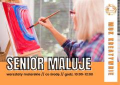 Plakat: SENIOR maluje