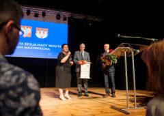 Zdjęcie: Profesor Mirosław Nagielski Honorowym Obywatelem Rawy Mazowieckiej