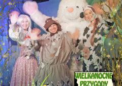 Plakat: Wielkanocne przygody krówki Matyldy